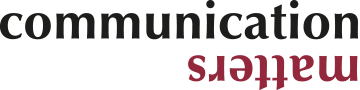 Communication Matters Logo